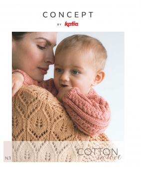 Cotton in Love - Anleitungsheft Nr. 1 von Katia