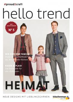 Anleitungsheft Nr. 5 Hello Trend  von Schachenmayr