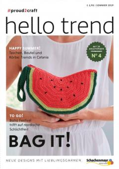Anleitungsheft Nr. 4 Hello Trend - Bag it Schachenmayr