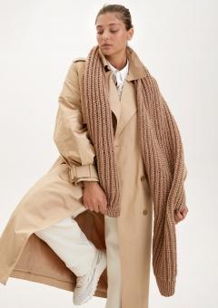Strickset Schal im Patentmuster lala Berlin Lovely Cotton