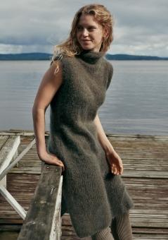 Strickset Kleid glatt rechts Brigitte No.3
