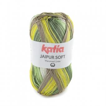 Jaipur Soft Katia 102 Ocker-Naturweiß-Khaki