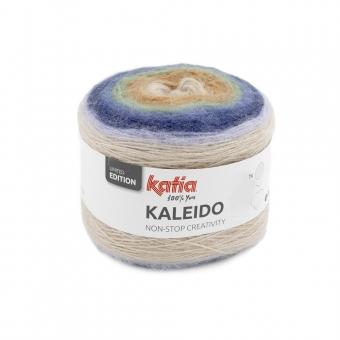 Kaleido von Katia 304 Camel-Khaki-Blau