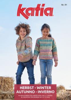 Kinder - Anleitungsheft Nr. 91 von Katia