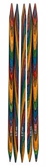 Strumpfstricknadel KnitPro Design-Holz Multicolor von Lana Grossa 2,75mm x 15cm