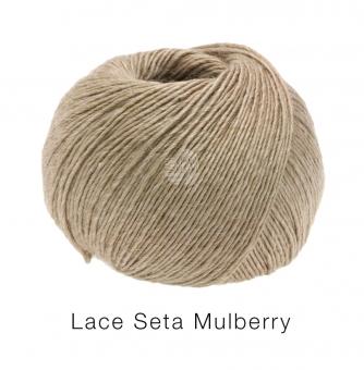 Lace Seta Mulberry Lana Grossa 12 Beige