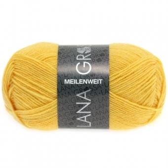 Meilenweit 50 Uni Lana Grossa Sockenwolle