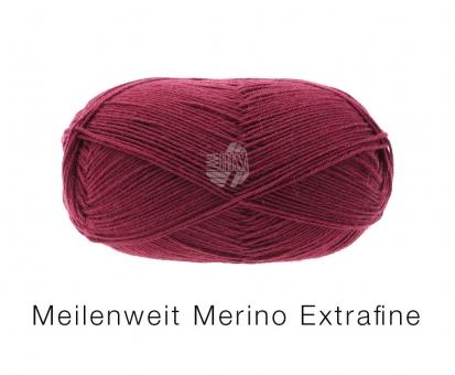 Meilenweit 100 Merino Sockenwolle Lana Grossa 2412 Marone