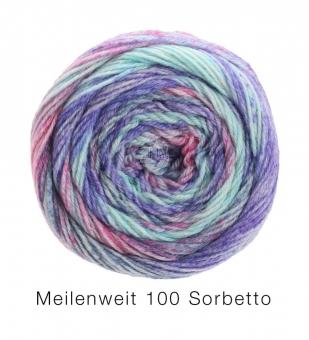 Meilenweit 100 Sorbetto Lana Grossa Sockenwolle 6255