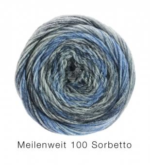 Meilenweit 100 Sorbetto Lana Grossa Sockenwolle 6256