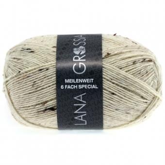 Meilenweit 6-fädig Tweed Lana Grossa Sockenwolle