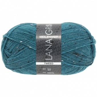 Meilenweit 100 Tweed Lana Grossa Sockenwolle
