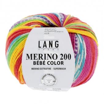 Merino 200 Bebe Color Lang Yarns
