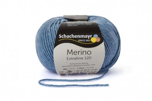 Merino Extrafine 120 Wolle Schachenmayr 00156 wolke meliert