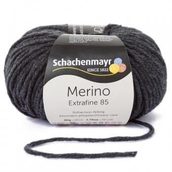 Merino Extrafine 85 Schachenmayr 00298 anthrazit meliert