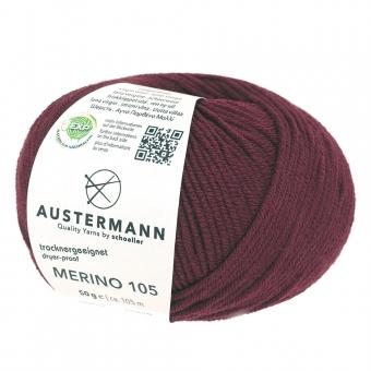 Merino 105 Austermann 325 bordeaux