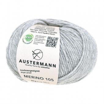 Merino 105 Austermann 328 hellgrau