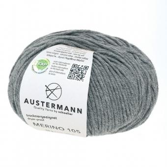 Merino 105 Wolle Austermann 329 grau