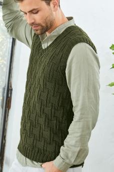 Strickset Herren-Pullunder Cool Wool