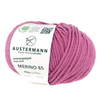 Merino 85 Austermann 49 pink lipstik