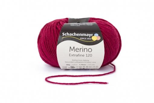 Merino Extrafine 120 Schachenmayr 00132 weinrot