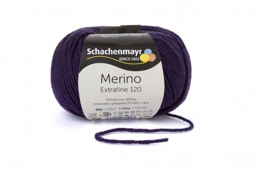 Merino Extrafine 120 Schachenmayr 00149 aubergine