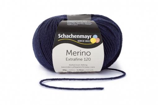 Merino Extrafine 120 Schachenmayr 00150 marine