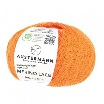 Merino Lace Austermann 08 orange