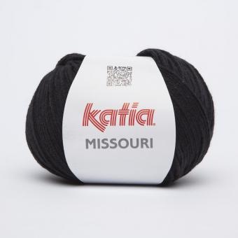 Missouri Wolle von Katia 02 Schwarz