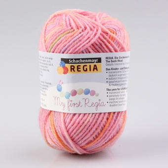 Baby Smiles My first Regia Sockenwolle 01816 Svenja color