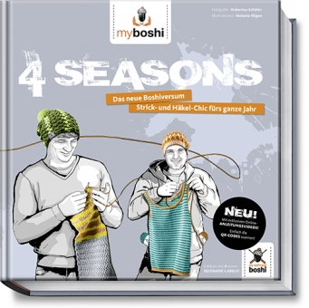 Myboshi 4 Seasons Buch
