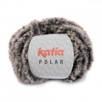 Polar Wolle Katia 85 Grau