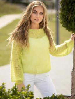 Strickset Pullover Kid Silk