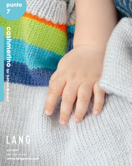 Anleitungsheft Punto 7 Cashmerino for Babys and More Lang Yarns