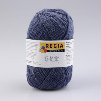Regia 6-fädig Uni Sockenwolle