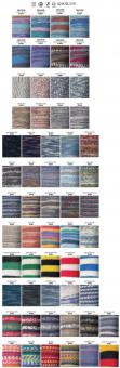 Regia 100g 4-fädig Color