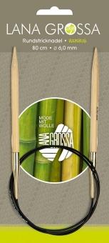 Rundstricknadeln Knit Pro Bambus Lana Grossa 10mm x 60cm
