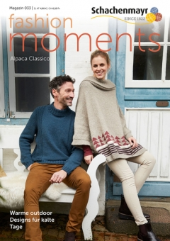 Schachenmayr Magazin 033 Fashion Moments Alpaca Classico