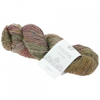Setacotone hand-dyed Lana Grossa 901 Rajma