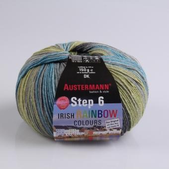 Step 150g 6-fädig Irish Color Sockenwolle Austermann 628 liscannor