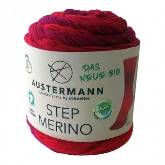 Step Merino 4-fädig Sockenwolle Austermann