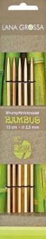 Strumpfstricknadel Bambus KnitPro von Lana Grossa 4,0mm x 15cm