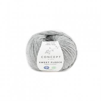 Sweet Fleece von Katia Concept 72 Hellgrau