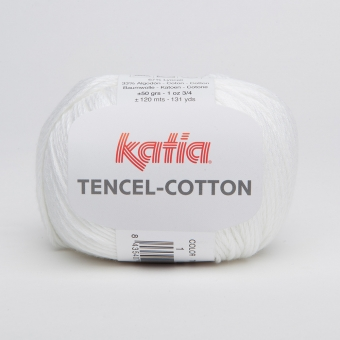Tencel Cotton Katia 01 Weiß