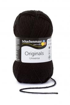 Universa Wolle Schachenmayr 99 schwarz