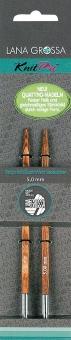 Vario Nadelspitzen Knit Pro Design-Holz Quattro Lana Grossa 8,0mm
