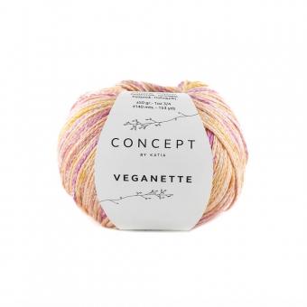 Veganette Katia Concept 102 Rosé-Weinrot-Ocker