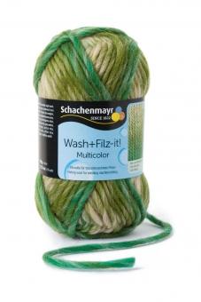 Wash+Filz-it! Multicolor Filzwolle Schachenmayr 00204 jungle