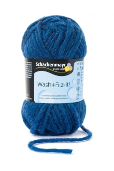 Wash+Filz-it! Filzwolle Schachenmayr 00025 indigo