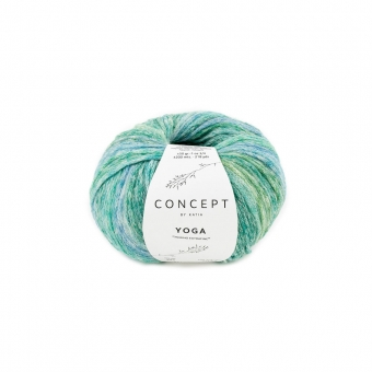 Yoga von Katia Concept 205 Grün-Blau